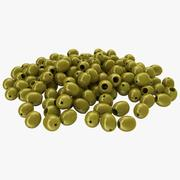 Pitted Olives 3d model