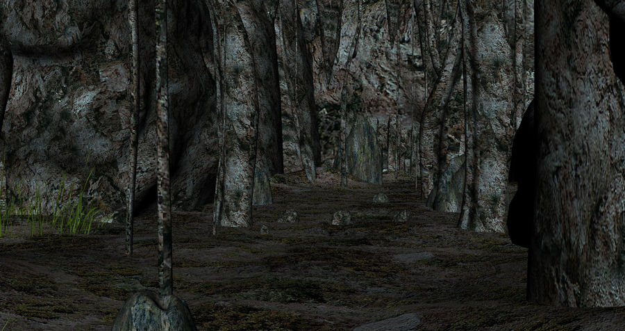Fantasy Cave royalty-free 3d model - Preview no. 10