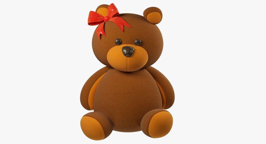 毛绒玩具熊 royalty-free 3d model - Preview no. 4