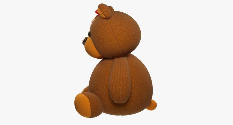 毛绒玩具熊 royalty-free 3d model - Preview no. 6