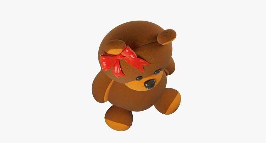 毛绒玩具熊 royalty-free 3d model - Preview no. 11