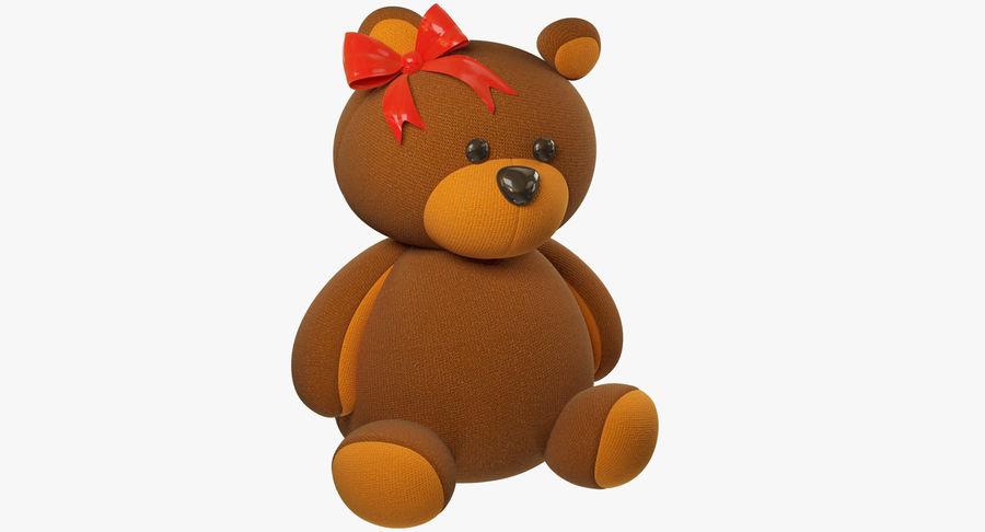 毛绒玩具熊 royalty-free 3d model - Preview no. 2