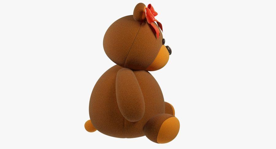 毛绒玩具熊 royalty-free 3d model - Preview no. 10