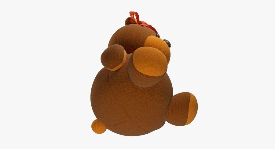 毛绒玩具熊 royalty-free 3d model - Preview no. 12