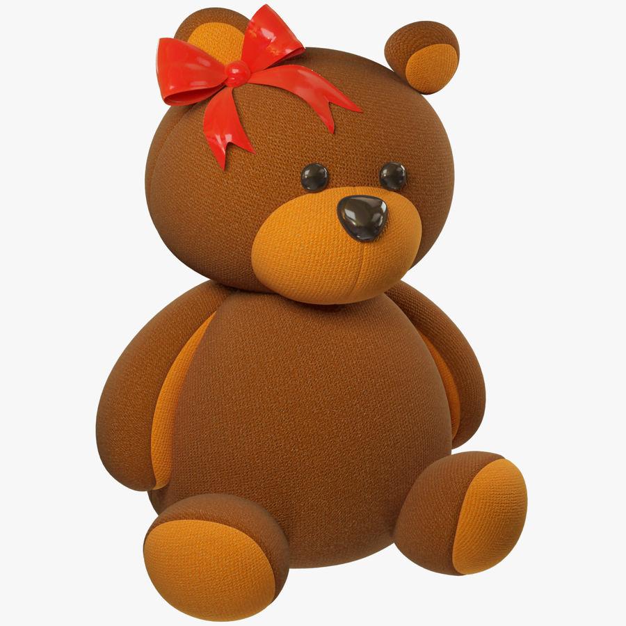 毛绒玩具熊 royalty-free 3d model - Preview no. 1