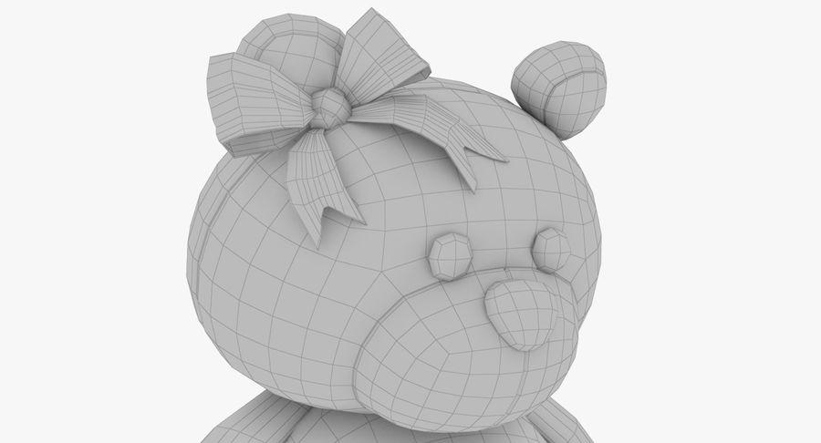 毛绒玩具熊 royalty-free 3d model - Preview no. 15