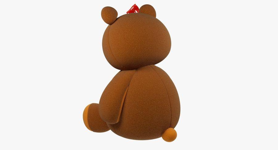 毛绒玩具熊 royalty-free 3d model - Preview no. 7