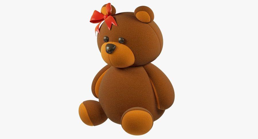 毛绒玩具熊 royalty-free 3d model - Preview no. 5