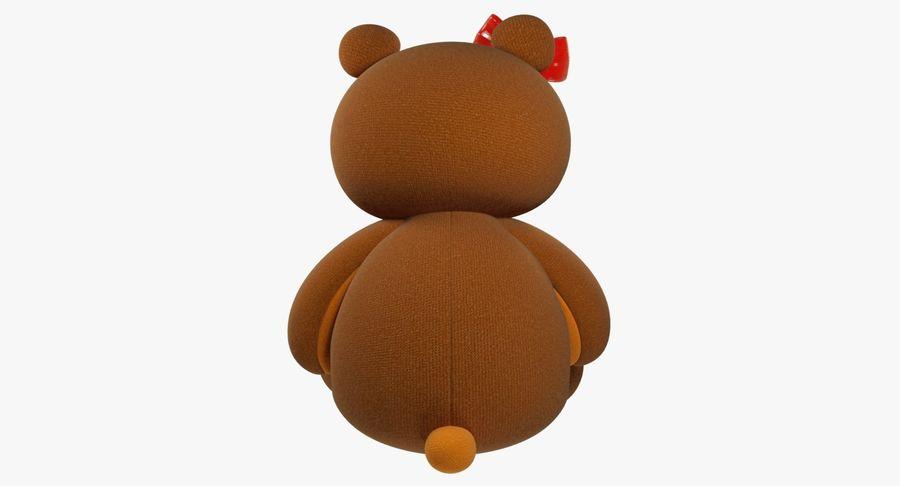 毛绒玩具熊 royalty-free 3d model - Preview no. 8