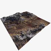 Stone Mountain Terrain Game Ready 3d model