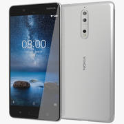 Nokia 8 stål 3d model