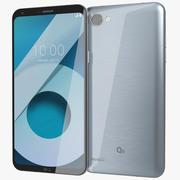LG Q6冰白金 3d model