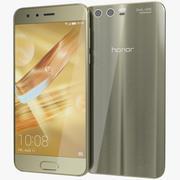 Huawei Honor 9 Gold 3d model