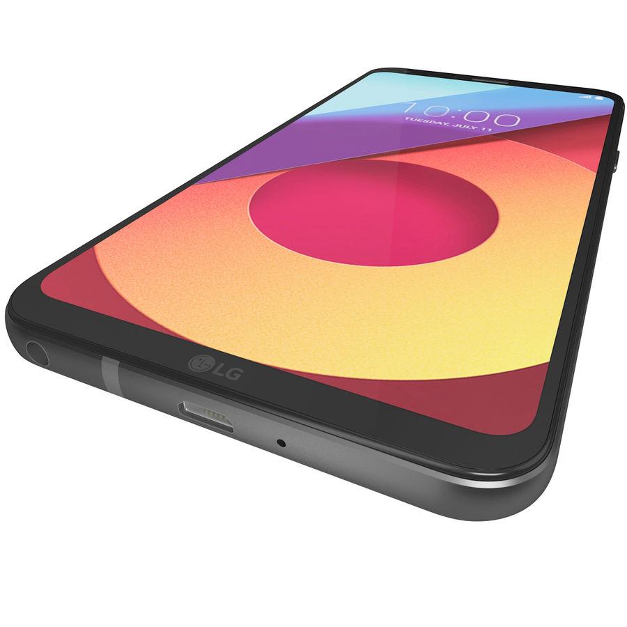 LG Q6 Plus Astro Black royalty-free 3d model - Preview no. 12
