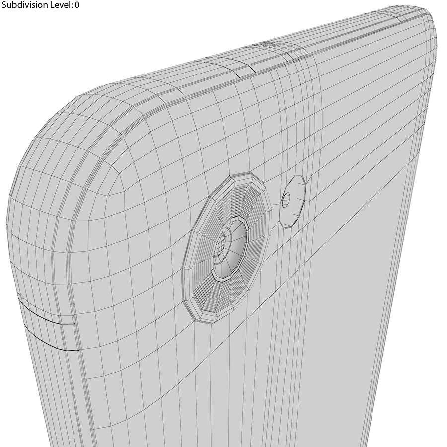 LG Q6 Plus Astro Black royalty-free 3d model - Preview no. 21