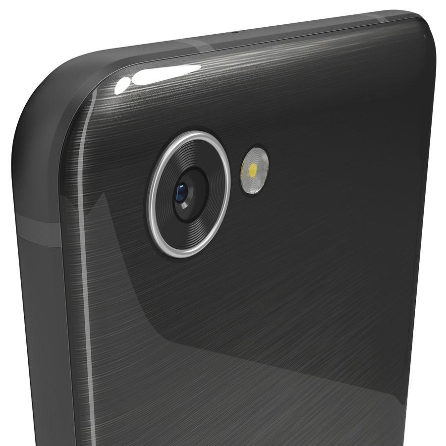 LG Q6 Plus Astro Black royalty-free 3d model - Preview no. 6