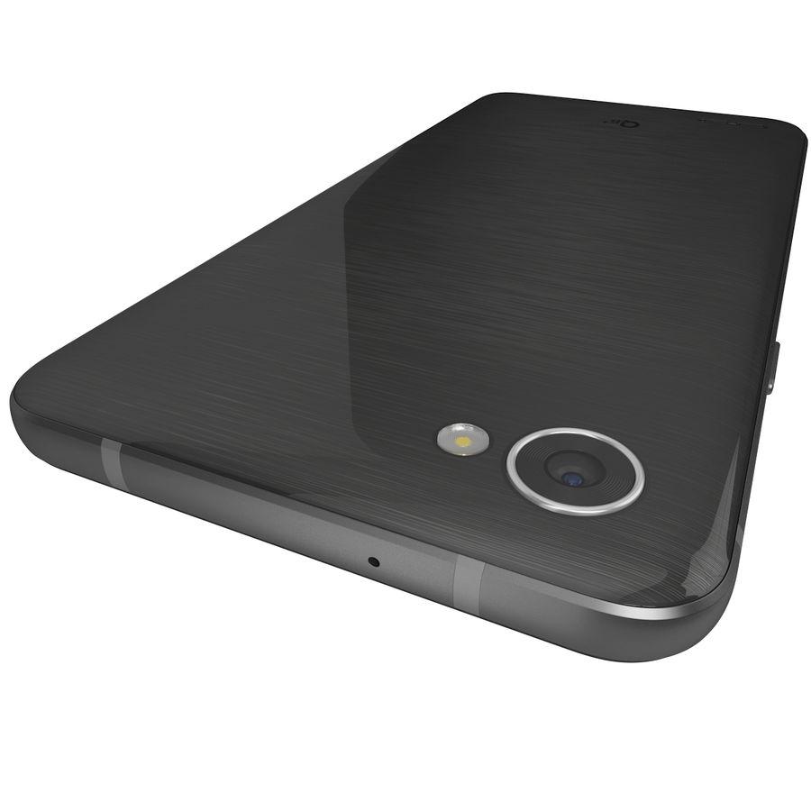 LG Q6 Plus Astro Black royalty-free 3d model - Preview no. 9