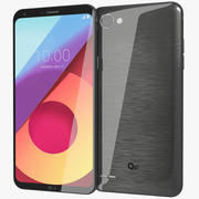 LG Q6 Plus Astro Black 3d model