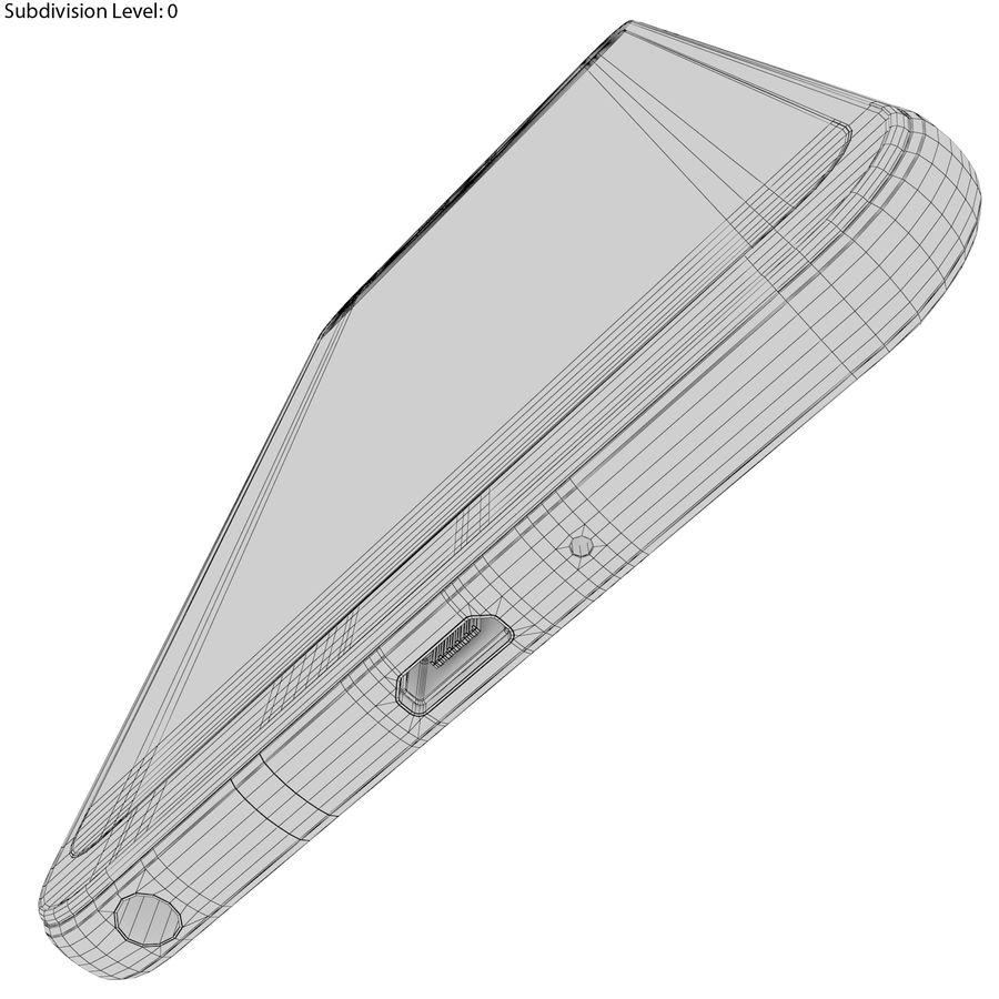 LG Q6 Plus Astro Black royalty-free 3d model - Preview no. 25