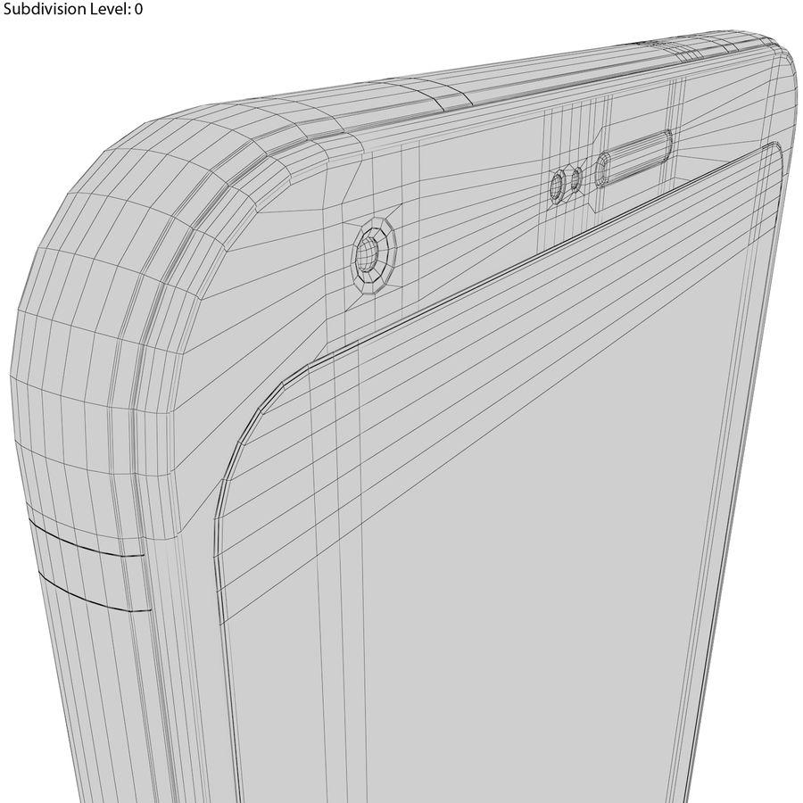 LG Q6 Plus Astro Black royalty-free 3d model - Preview no. 23