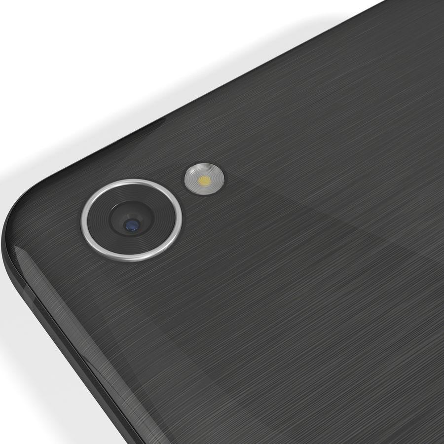 LG Q6 Plus Astro Black royalty-free 3d model - Preview no. 13