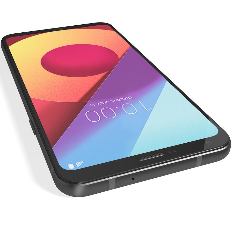 LG Q6 Plus Astro Black royalty-free 3d model - Preview no. 10