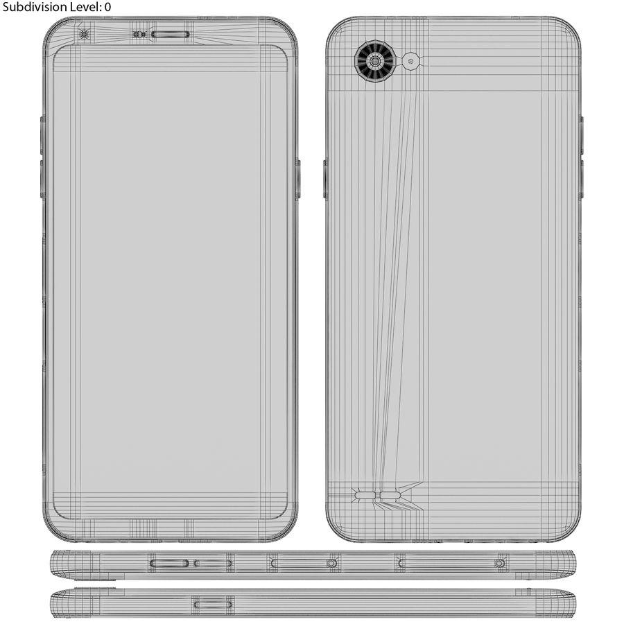 LG Q6 Plus Astro Black royalty-free 3d model - Preview no. 19