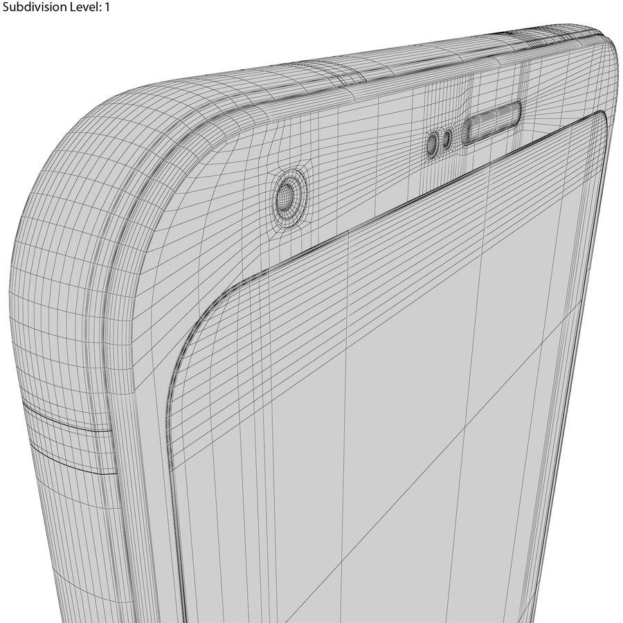 LG Q6 Plus Astro Black royalty-free 3d model - Preview no. 24