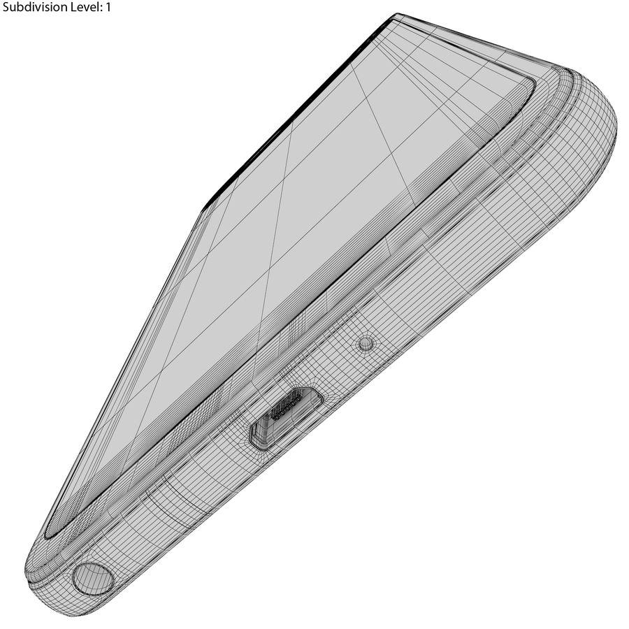 LG Q6 Plus Astro Black royalty-free 3d model - Preview no. 26