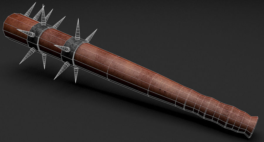 Arme de chauve-souris royalty-free 3d model - Preview no. 17