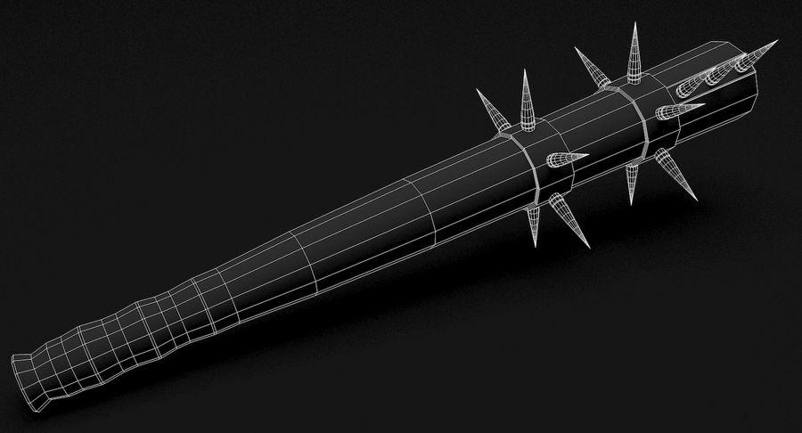 Bat Weapon royalty-free 3d model - Preview no. 10