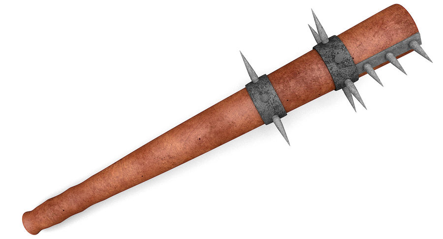 Arme de chauve-souris royalty-free 3d model - Preview no. 7