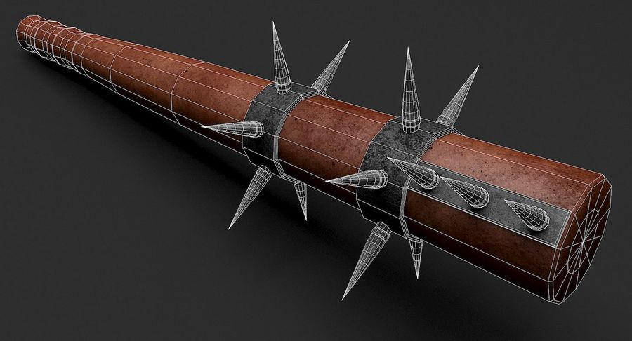 Arme de chauve-souris royalty-free 3d model - Preview no. 15