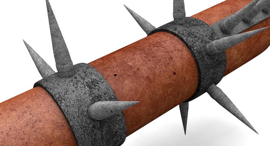 Bat Weapon royalty-free 3d model - Preview no. 9