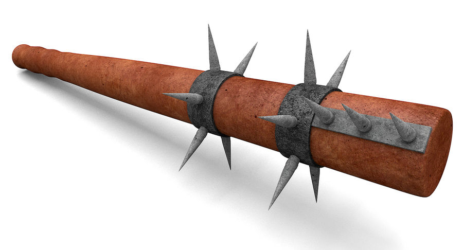 Bat Weapon royalty-free 3d model - Preview no. 4