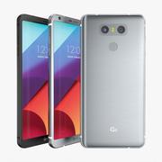 Collezione di modelli 3D di LG G6 3d model