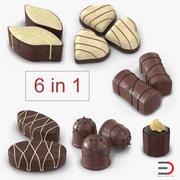 チョコレート菓子3Dモデルコレクション 3d model