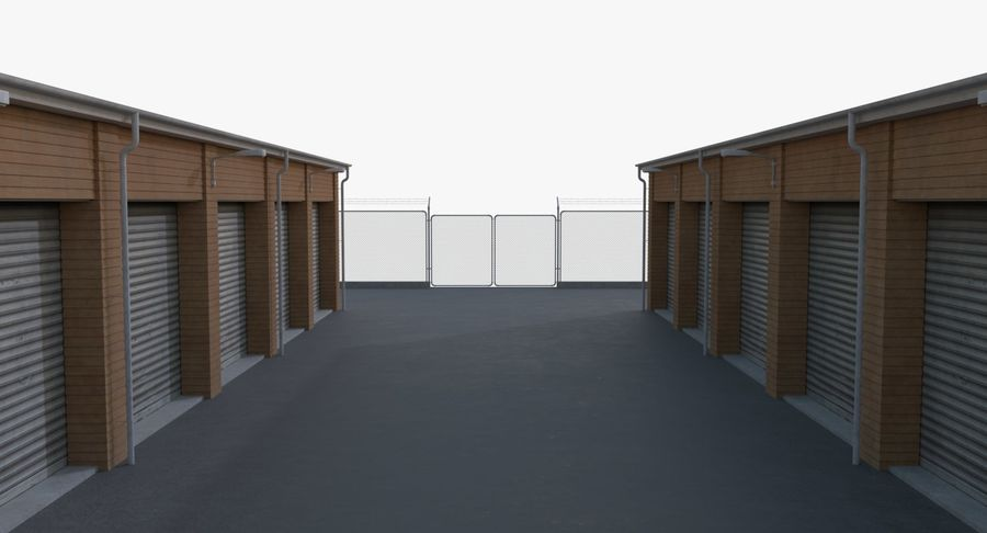Storage Facility 3 royalty-free 3d model - Preview no. 13