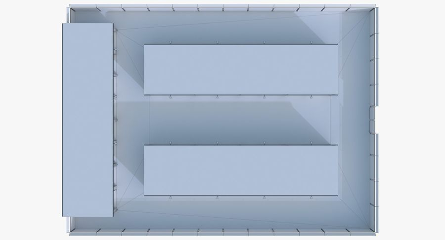 Storage Facility 3 royalty-free 3d model - Preview no. 22