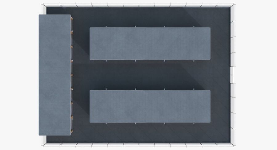 Storage Facility 3 royalty-free 3d model - Preview no. 12