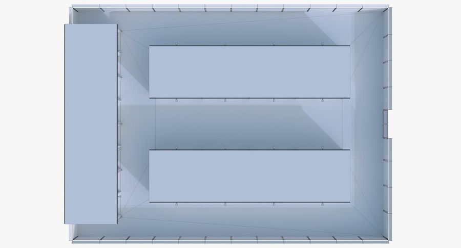 Storage Facility 2 royalty-free 3d model - Preview no. 22