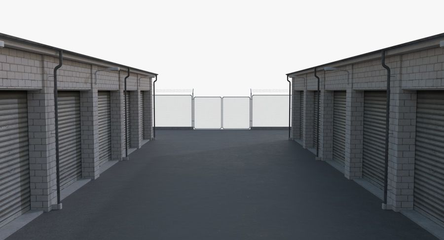 Storage Facility 2 royalty-free 3d model - Preview no. 13