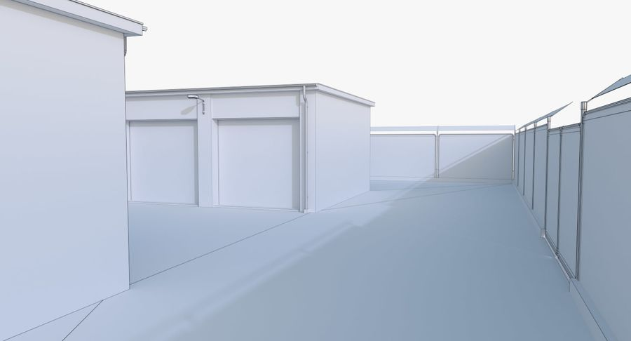 Storage Facility 2 royalty-free 3d model - Preview no. 18
