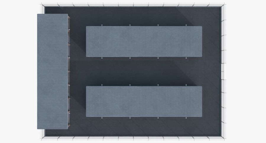 Storage Facility 1 royalty-free 3d model - Preview no. 12