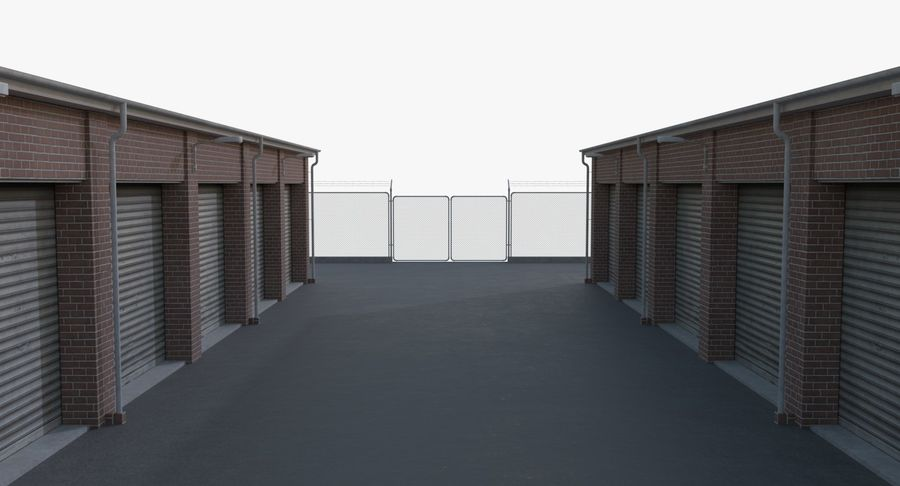 Storage Facility 1 royalty-free 3d model - Preview no. 13