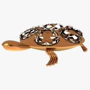 Elmas kaplumbağa 3d model