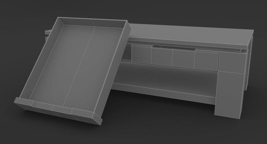 木制咖啡桌 royalty-free 3d model - Preview no. 13