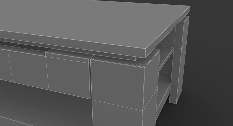 木制咖啡桌 royalty-free 3d model - Preview no. 10
