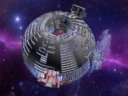 Sci-Fi moderskepp 3d model