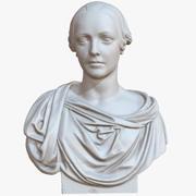 Busto femminile 1M Raw Scan 3d model